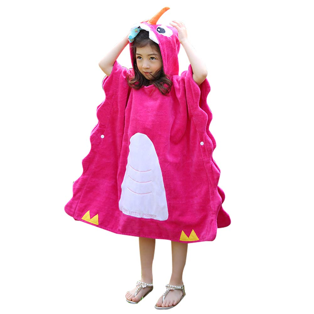 Anikea Children Hooded Poncho Bath Towel