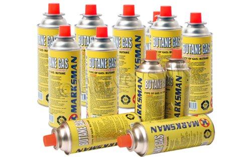 Marksman 28 Butane Gas Bottles CANISTERS for Cooker Heater BBQ BARGAINS-GALORE 28 Bottles Gsa