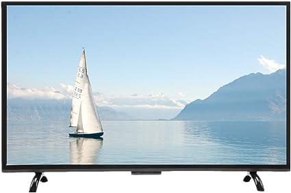 Kafuty Televisor de Pantalla Curva Grande de 43 Pulgadas 3000R Curvatura 4K HDR HD Smart TV 1920x1200 Resolución Versión de TV para Android 110V(EU Plug): Amazon.es: Electrónica