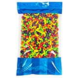 Bulk Runts Fruit Candy 5 lbs In a Resealable Bomber Bag - Great for Candy Bowls - Vending Machine Refills - Wholesale - Parties