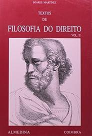 TEXTOS DE FILOSOFIA DO DTO II