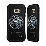 Official HBO Game Of Thrones Silvertargaryen Sigils Hybrid Case for Samsung Galaxy S7 edge