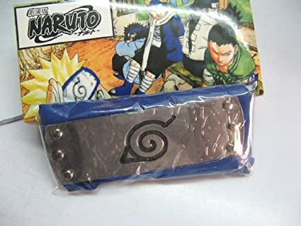Amazon.com: Naruto: Konoha – Diadema Leaf Village – Azul ...