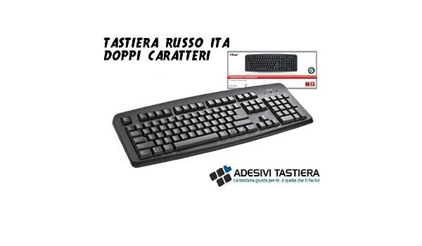 Trust stickerslab DKL Pantalla - Teclado Hints Ruso con Voz ITA Socket USB: Amazon.es: Electrónica