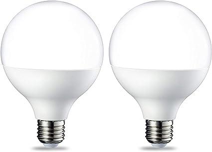 ersetzt 100W Basics E27 LED Lampe 14.5W warmwei/ß Globe 2er-Pack