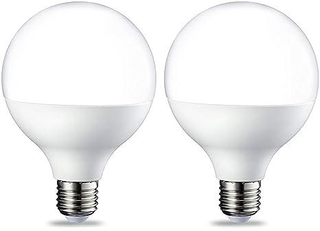 AmazonBasics Bombilla LED Globo E27, 14.5W (equivalente a 100W ...