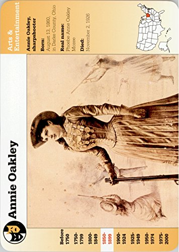 1994-01 Story of America Collectible Card #16-18 Annie Oakley - - Oakley America