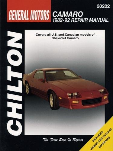GM Camaro, 1982-92 (Chilton Total Car Care Series Manuals)