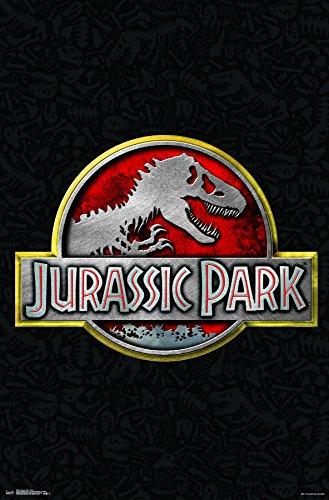 """Trends International Jurassic Park - Logo Wall Poster, 22.375"""" x 34"""", Unframed Version"""