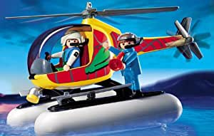 3220 playmobil hovercraft helic ptero for Helicoptero playmobil