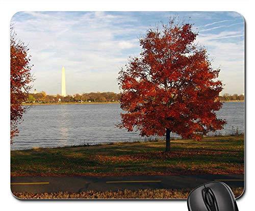 - Mouse Pads - Washington Dc Virginia Washington Monument Fall