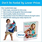 Premium Soft Baby Book First Year, Cloth Book