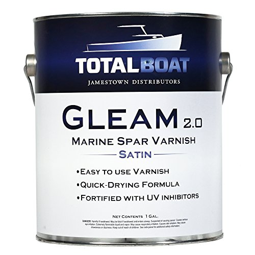 (TotalBoat Gleam Spar Varnish (Satin Low-Sheen Gallon))