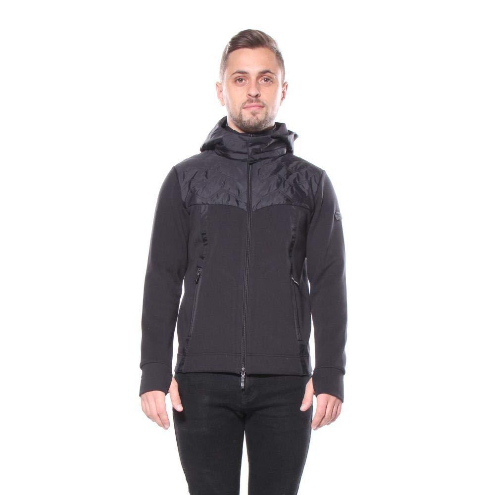 Hugo Boss Men Zippered Sweatshirt Black