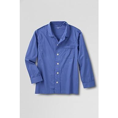 9283d631266c9 Amazon.com: Lands' End Men's Regular Broadcloth Pajama Top, M, True ...