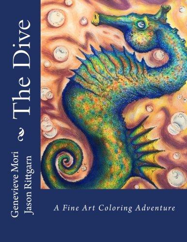 The Dive: A Fine Art Coloring Adventure