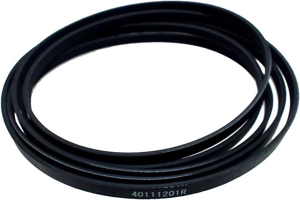 Dryer Drum 40111201 Belt Replacement Part by Exact Fit for Whirlpool Dryer- Replaces 14218936 40051501 40051502