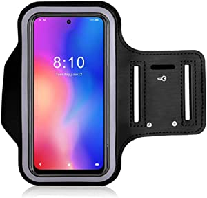 Running Armband for Samsung Galaxy S11E Adjustable Arm Phone Case Holder for Xiaomi Black Shark Helo Sports Mobile Phone Bag for Hiking Exercise Gym Workout with Key Holder
