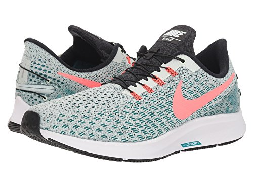 [NIKE(ナイキ)] メンズランニングシューズ?スニーカー?靴 Air Zoom Pegasus 35 FlyEase Barely Grey/Hot Punch/Geode Teal/Black 14 (32cm) D - Medium