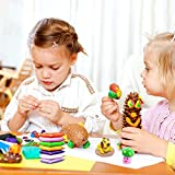 Vankerter Modeling Clay 24 Colors Nontoxic Air