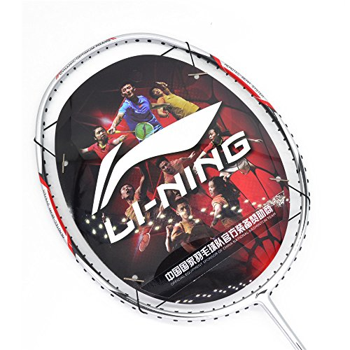 2018 Li-Ning Badminton racket A700-Silver Badminton Racquet Without String