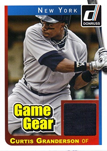 2014 Donruss Game Gear Prime #9 Curtis Granderson Jersey 11/25