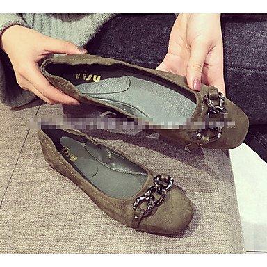 Cómodo y elegante soporte de zapatos de tacón para mujer otros piel sintética al aire libre negro verde gris burdeos verde