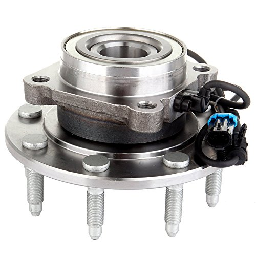SCITOO Compatible with New Complete Front Wheel Hub Bearing Assembly GMC Trucks 4x4 8-Lug ABS 515058