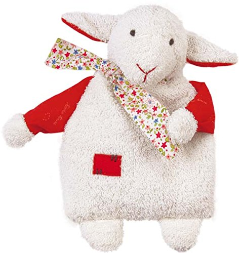 Kathe Kruse Infant Kids Room Classic Rye-and-Spelt Pillow Lamb ()
