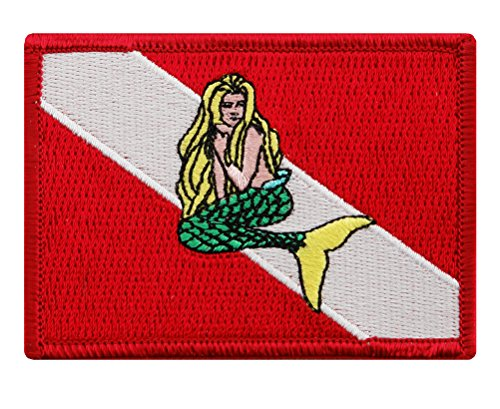 Mermaid Embroidered Diving Emblem Souvenir product image