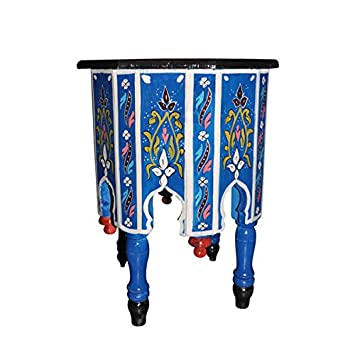 Amazon.com: Marroquí octogonal pintado a mano Accent Moorish ...