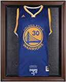 Golden State Warriors 2015 NBA Finals Champions Logo Brown Framed Jersey Display Case - Fanatics Authentic Certified
