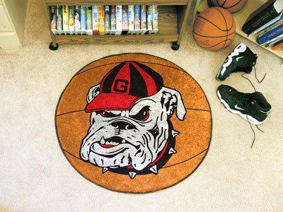 Fan Mats Georgia Bulldog Basketball Rug, 29