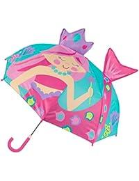 Kids' Stephen Joseph Pop Up Umbrella, Pink Mermaid