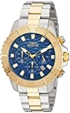 Invicta Men's 'Pro Diver' Quartz Stainless Steel Casual Watch, Color