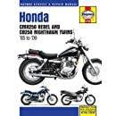 Honda CMX250 Rebel & CB250 Nighthawk Twins, 1985-2009 (Haynes Repair Manual)