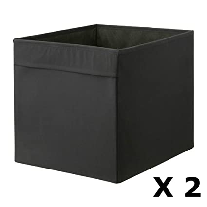 Amazon.com: Ikea DRONA Foldable Storage Box 2-Pack: Kitchen ...