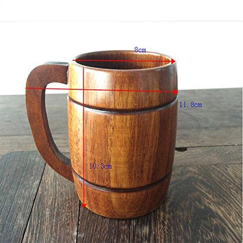 wooden beer cup - 7