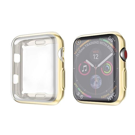 4c1b739e013 Amazon.com  amBand Compatible for Apple Watch Series 4 Screen ...