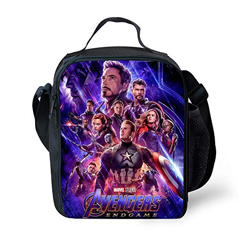 NEW NEW (Avengers Endgame Quantum RealmLunch Bag Insulated School Boys Girls Lunch Box Snack (01)