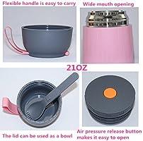 Amazon.com: aspiradora Jar Termo para comida 21oz – Termo de ...