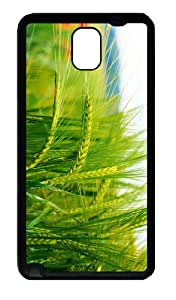 awesome cover Green Wheat TPU Black case/cover for samsung galaxy note 3 N9000