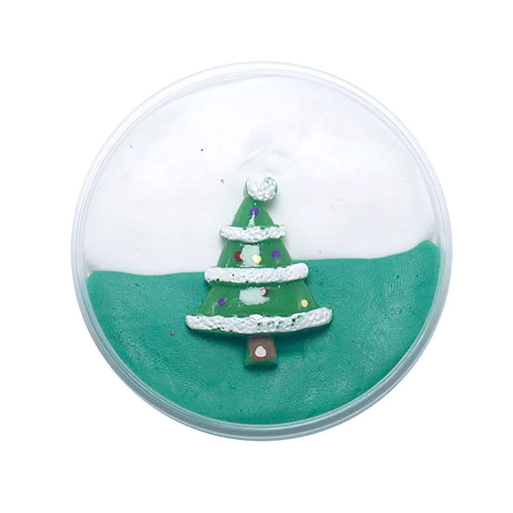 Fluffy Slime Flauschige Schleim - Weihnachten Flauschige Floam Slime ...
