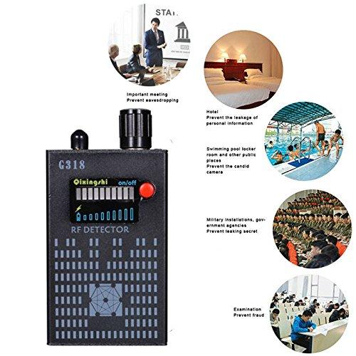 Hangang Anti-Espía Amplification Señal Detector Espía Bug Cámara Inalámbrica Detector Espía Detector Dispositivo Espía Cámara Inalámbrico Oculto: Amazon.es: ...