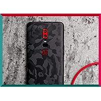 Smartskkins Oneplus 6 Skins for Back and Camera Skin (Black Camo)