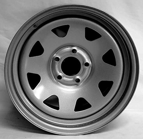 New 16 Inch 5 on 4.5 Spoke Steel Wheel Rim Fits Wrangler Ranger Steel Spoke 167545SS