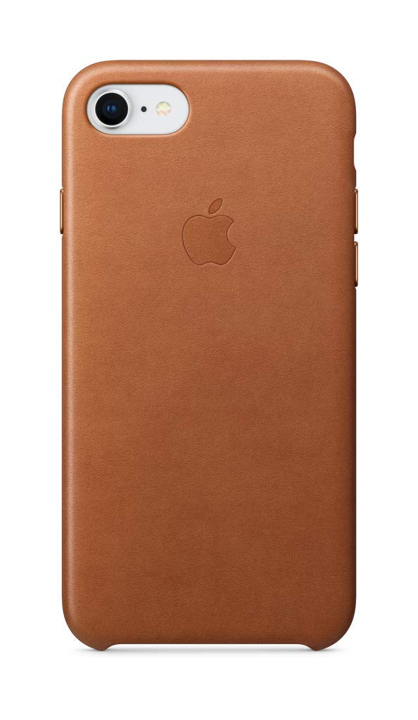 iphone 8 brown leather case
