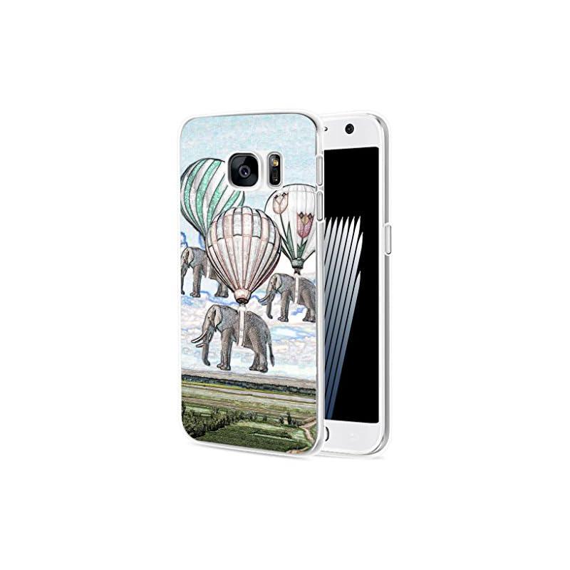 S6 Case Elephant/ IWONE Designer TPU Rub
