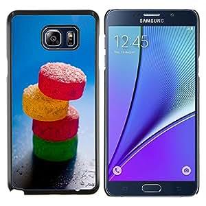 EJOOY---Cubierta de la caja de protección para la piel dura ** Samsung Galaxy Note 5 5th N9200 ** --Dulce