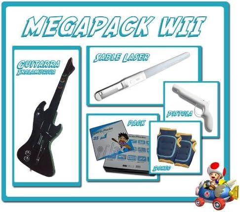 Megapack Accesorios Wii: Amazon.es: Videojuegos